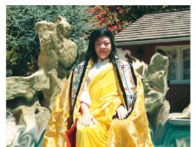 第三世多杰羌佛说法 僧俗辩语