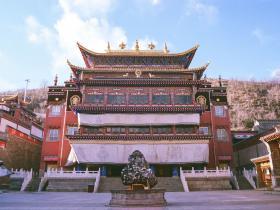 宗喀巴大师出生地塔尔寺致函恭贺南无第三世多杰羌佛