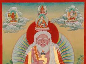 第十六世唐东迦波法王恭贺礼赞南无第三世多杰羌佛