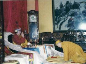 中国佛教第一高僧清定法师拜南无第三世多杰羌佛为师
