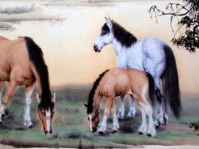 羌佛中国画作品