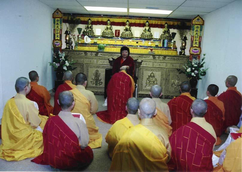 第三世多杰羌佛被公认为 显密圆通、五明俱足的大法王正宗佛教大师 第16张 第16张