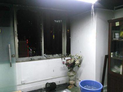 商贸大厦发生大火灾,佛堂在大火中奇迹般完好无损
